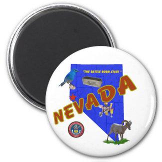 Nevada Refrigerator Magnet