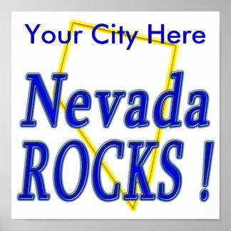 Nevada Rocks ! Posters