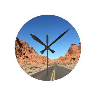 Nevada Round Clock