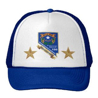 Nevada Sesquicentennial 150th anniversary Trucker Hats