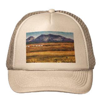 Nevada - Southwestern Cargo Train Trucker Hats