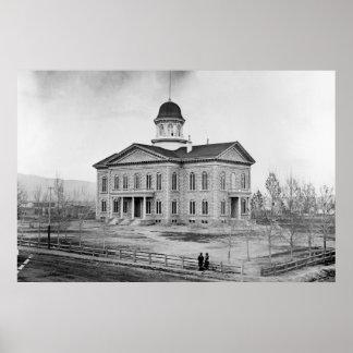 Nevada State Capitol 36x24 Print