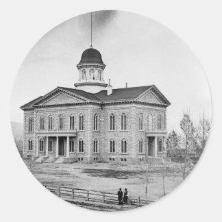 Nevada State Capitol Classic Round Sticker
