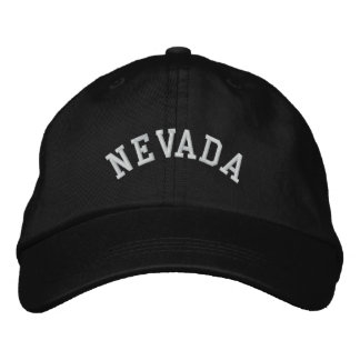 Nevada State Embroidered Embroidered Hat