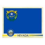 Nevada State Flag and Seal Postcard
