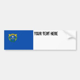 Nevada State Flag Bumper Sticker