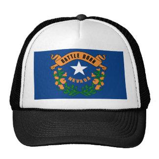 Nevada State Flag Mesh Hat