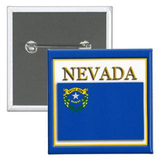 Nevada State Flag Design Button