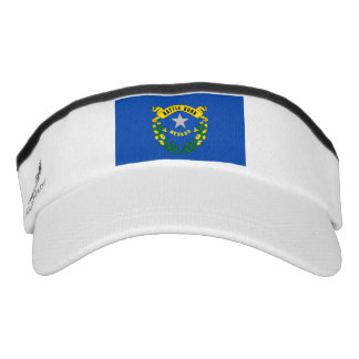 Nevada State Flag Design Visor