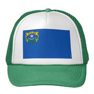 Nevada State Flag Mesh Hats