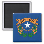 Nevada State Flag Magnets