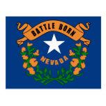Nevada State Flag Postcard