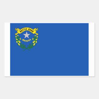 Nevada State Flag Sticker - 4 per sheet