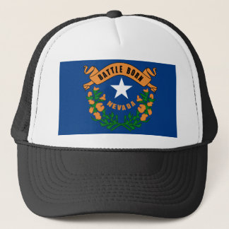 Nevada State Flag Trucker Hat