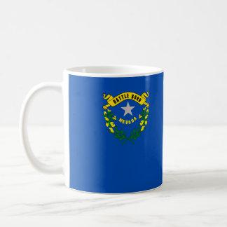 nevada state flag united america republic symbol coffee mug