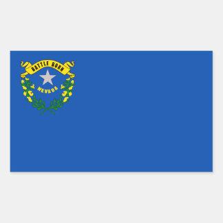 Nevada State Flag, United States Rectangular Sticker