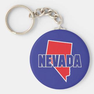 Nevada State Key Ring