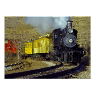 Nevada State Railroad Museum Train #25 Poster