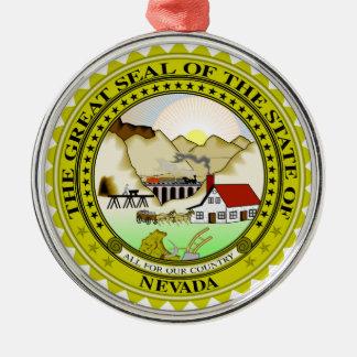 Nevada state seal america republic symbol flag christmas ornament