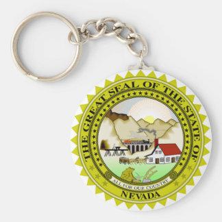 Nevada state seal america republic symbol flag key ring