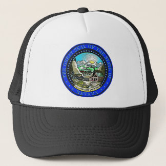 Nevada State Seal Trucker Hat