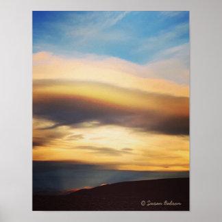 Nevada Sunset Poster