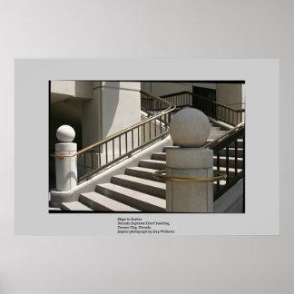 Nevada Supreme Court stairway Print