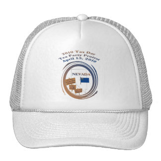 Nevada Tax Day Tea Party Protest Cap