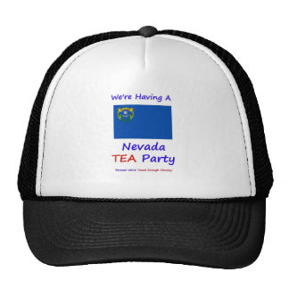 Nevada TEA Party - We're Taxed Enough Already! Cap