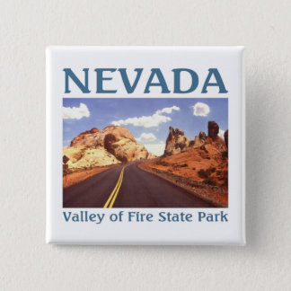 Nevada USA 15 Cm Square Badge