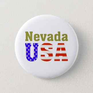 Nevada USA! 6 Cm Round Badge