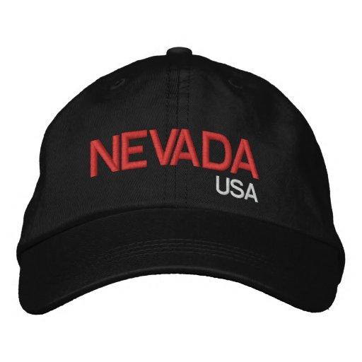 Nevada* USA Black Hat Baseball Cap