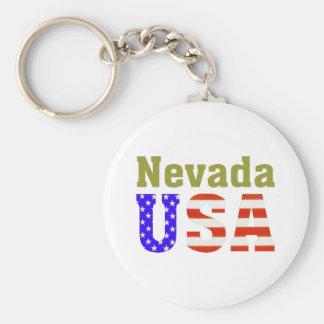 Nevada USA! Key Ring