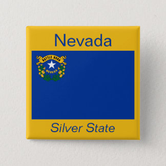 Nevadan Flag Button