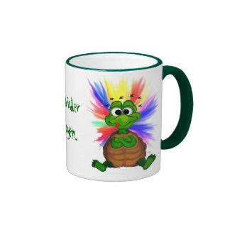 Never again drugs ringer mug