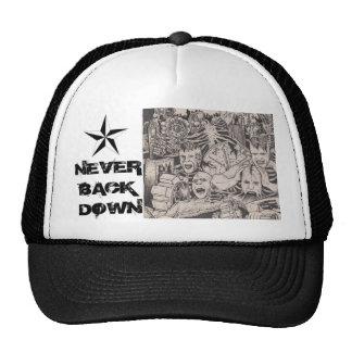 never back down bio mechanics hat