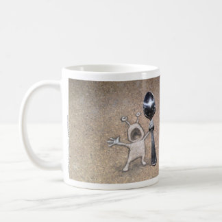 never bring a spoon to a forkfight coffee mug