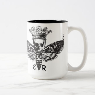 Never- Death s Head Logo Mug