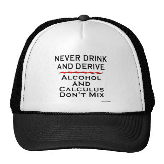 Never Drink and Derive Mesh Hats