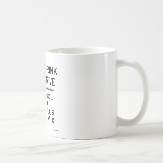 Never Drink and Derive Coffee Mugs