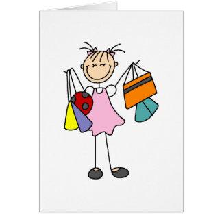 Never Enough Bags Shopping Card