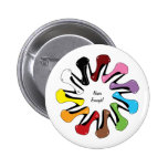 Never Enough Shoes (customisable) 6 Cm Round Badge
