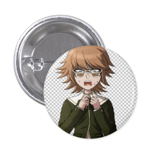 never forget 3 cm round badge