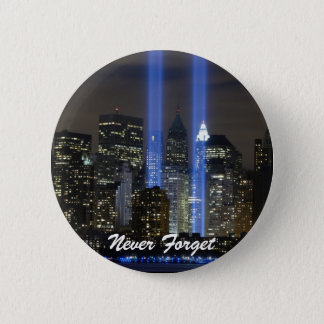 Never Forget 6 Cm Round Badge