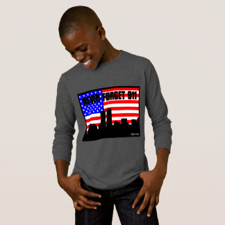 Never Forget 911 LONG SLEEVE SHIRT GREY