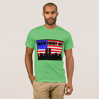Never Forget 911 TSHIRT MINT