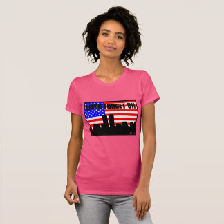 Never Forget 911 TSHIRT PINK