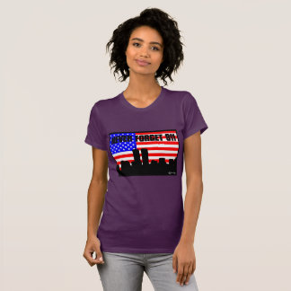 Never Forget 911 TSHIRT PURPLE