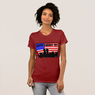 Never Forget 911 TSHIRT SHORT SLEEVE WINE