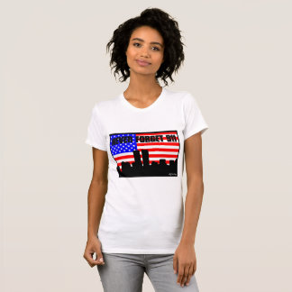 Never Forget 911 TSHIRT WHITE